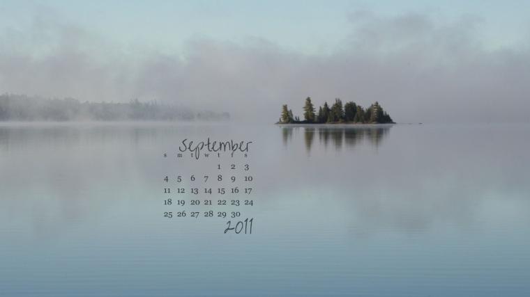 free desktop calendar september 2011