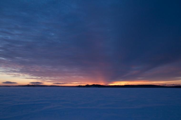winter night sky 1