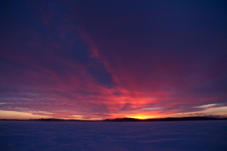 winter night sky 3