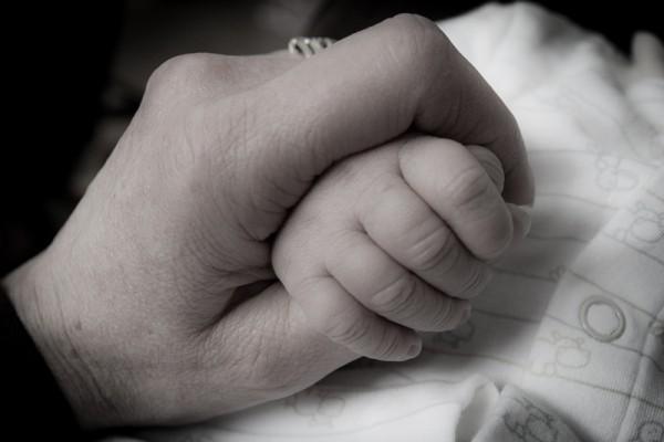 newborn grasp