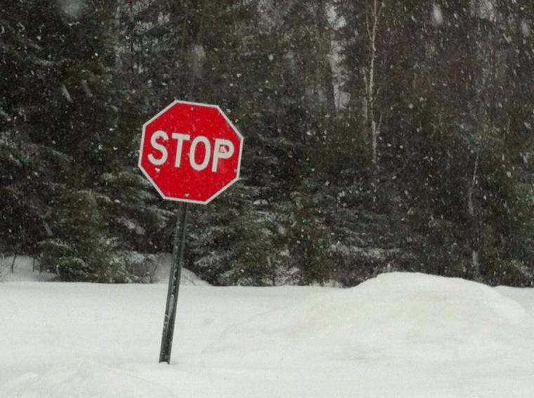 stop snow