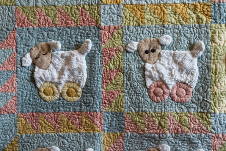 Sleepy Sheep Quilt for Macy
