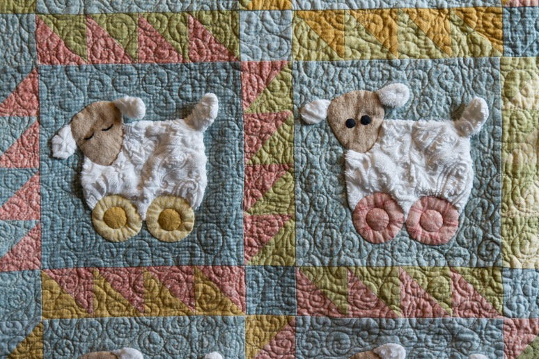 Sleepy Sheep Quilt for Macy