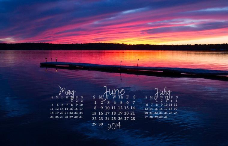 free desktop calendar june 2014_1440x900