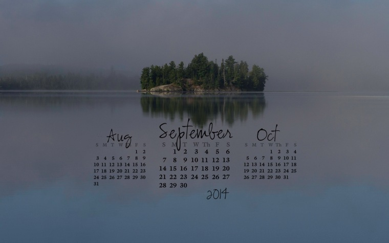 free desktop calendar September 2014_1440x900