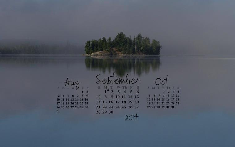 free desktop calendar September 2014_1440x900