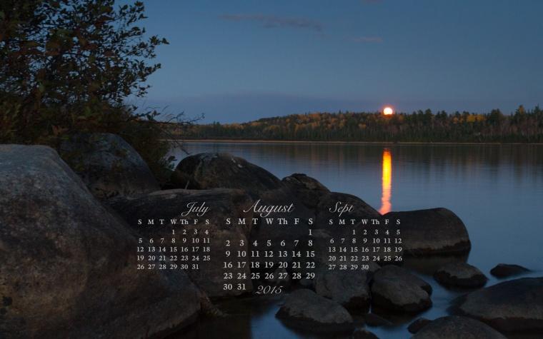free desktop calendar August 2015_1440x900