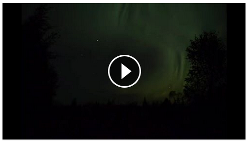 Aurora time lapse September 2015