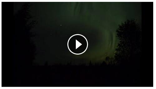 Aurora time lapse September 2015