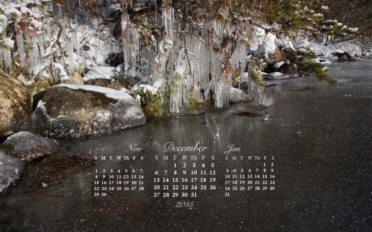 free desktop calendar December 2015_1440x900