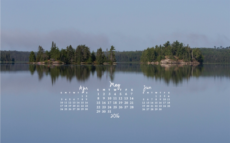 free desktop calendar May 2016_1440x900