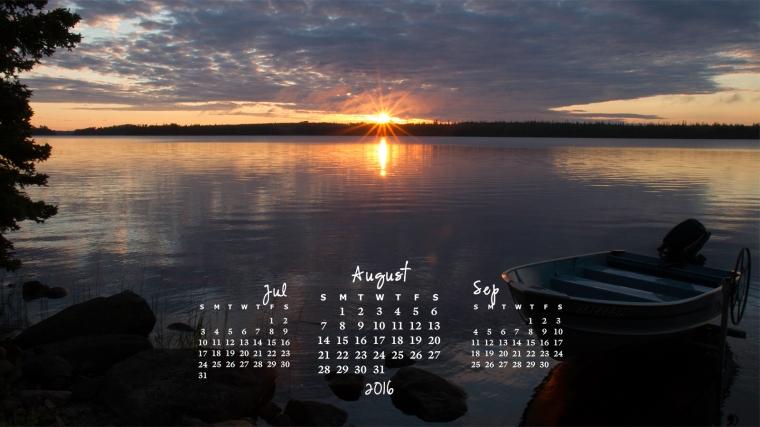 free desktop calendar august 2016_1600x900
