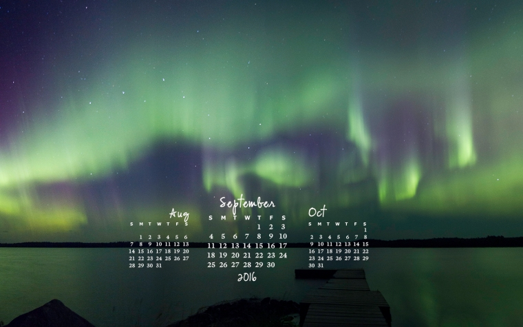 free desktop calendar September 2016_1440x900
