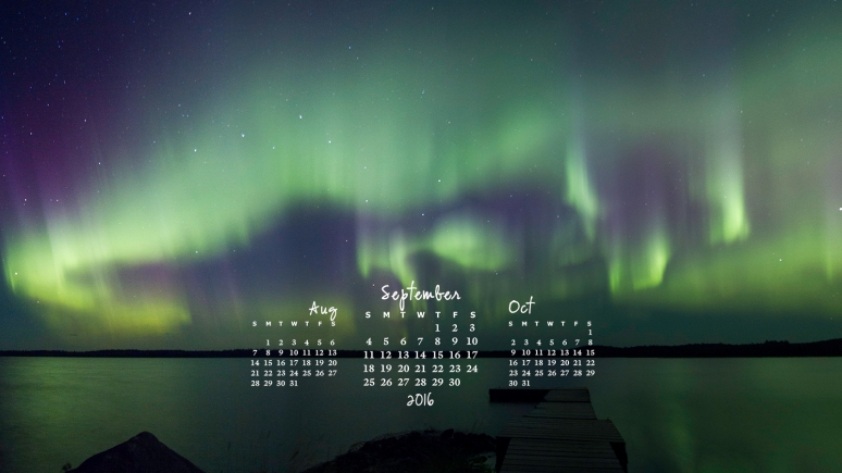 free desktop calendar September 2016_1600x900