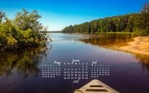 free desktop calendar June 2018_1440x900
