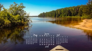 free desktop calendar June 2018_1600x900